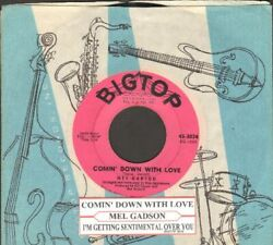Gadson Mel - Comin' Down With Love Vinyl 45 rpm record Free Shipping