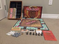 Lord of the Rings Trilogy Edition Monopoly COMPLETE LOTR  Monopoly Lord Rings