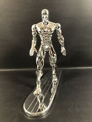 "1994 TOYBIZ MARVEL 4 FANTASTIC FOUR SILVER SURFER 10"" FIGURE DELUXE EDITION NICE"