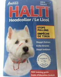Halti Dog Head Collar Small Breed Dog Size 0 Stop Pulling Kindly Snout Black NEW $14.99