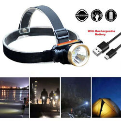 5000LM T6 LED Rechargeable USB Waterproof Headlight HeadLamp Head Light Charger $13.98