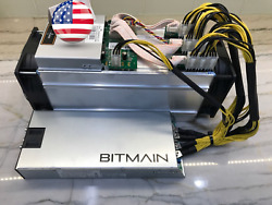 Bitmain Antminer S9 13.5THs ASIC Miner + PSU Good Working Condition IN BOX USA
