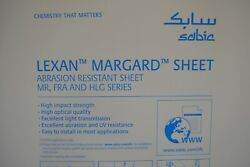 MR10 Lexan 1 4quot; Clear Sheet CHOOSE A SIZE $31.20