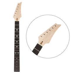 Electric Guitar Neck 24 Large Frets With 42mm Nut For Guitar Parts Replacement $35.89