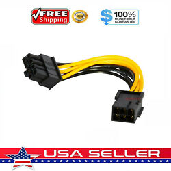 6 pin to 8 pin PCI Express Power Converter Cable for GPU Video Card PCIE PCI E $2.49