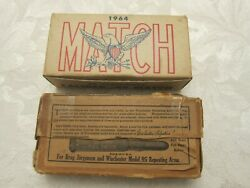Vintage Winchester USA Empty Ammo Boxes Olin WCC .45 Match & .30 Army Full Patch