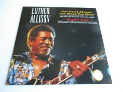 Luther Allison You Can't Always Get What You Want Night Life Vinyl 7