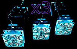 CLOUD MINING Contract x3 Antminer S9 Rental 40.5 THs Bitcoin Mining Hash 1 Day $9.45
