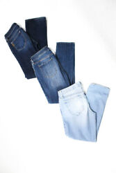 Genetic Articles Of Society Paige Womens Jeans Blue Cotton Size 26 27 28 Lot 3