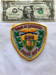 Coventry Rhode Island Police Patch Un sewn great shape $22.75
