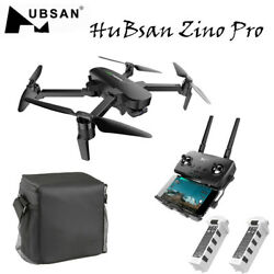 Hubsan ZINO PRO GPS 5G WiFi 4KM FPV With 4KHD Camera 3-Axis Gimbal RC Quadcopter $565.17