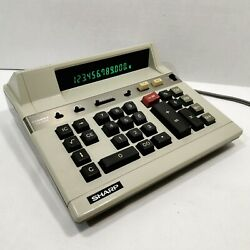 Vintage Sharp CS-2115 Compet Calculator late 70's early 80's model