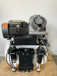 Dental EZ Jun Air CA825 Oil Less Dental Compressor Model 2000 40BD2 Quiet $1895.00