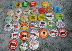 35 different Le Sueur County Pioneer Power Tractor Buttons 1978 2011 $49.99