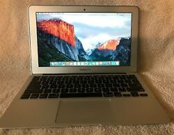 APPLE MACBOOK AIR (MD223LLA) 1.7GHz 11.6in 64GB 4GB RAM Intel Core i5 - Silver