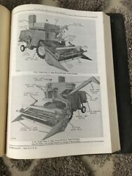 John Deere 45 Combine Dealer Manual Antique Tractor D A B GP H R Hit Miss Engine