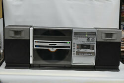 Sharp VZ-3000 All-in-One HiFi Vertical RecordVinylLP BoomBox Stereo Retro 80's