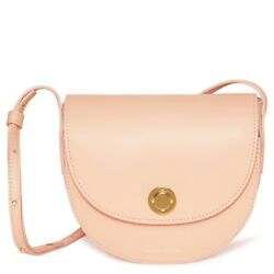 Authentic NEW MANSUR GAVRIEL MINI SADDLE BAG ROSA $695 Sold out everywhere $365.00