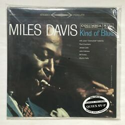 Miles Davis Kind of Blue 2001 Classic Records Stereo Reissue SEALED Columbia