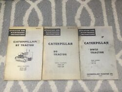 Caterpillar Antique Tractor Manual D7 D9 DW21 John Deere D A B G Hit Miss Engine