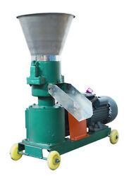 TECHTONGDA Feed Pellet Machine for Commercial for 8mm Granule 220V 3KW Power New