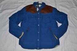 AUTHENTIC PENFIELD MENS STAPLETON  BLUE ALL SIZES  WATER RESISTANT DOWN JACKET