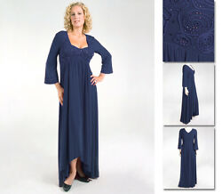 NEW Zaftique ADRIANNA DRESS Navy 2Z 3Z 4Z 5Z 6Z 20 24 28 32 36 2X 3X 4X 5X 6X