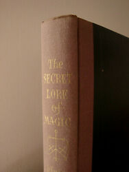 Rare SECRET LORE OF MAGIC by SHAH  HARDCOVER DEMONOLOGY GRIMOIRE OCCULT VINTAGE