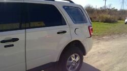 Driver Left Rear Side Door White Electric Tinted Glass Fits 08-12 ESCAPE 53785