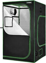 Indoor grow tent kit led light duct fan and fabric pots. Out of box. Never used.