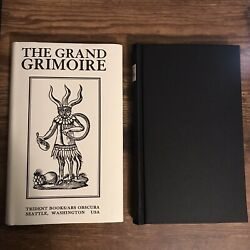 The Grand Grimoire magic demonic spell book rare w dust jacket Occult