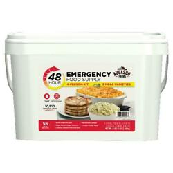 Emergency Food Supply Survival Bucket 4 Person Kit 55 Serving Storage Quick Meal