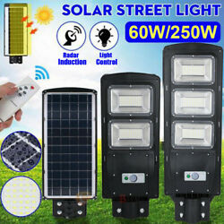 150000LM Commercial Solar Street Light LED Outdoor IP67 Dusk-to-Dawn Road Lamp $73.61