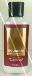 BATH AND BODY WORKS*BOURBON*Mens Lotion Cream*NEW*Free Shipping AUTHENTIC $12.95