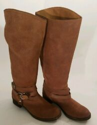 Lucky Brand Hanah Knee High Fashion Boots Toffee size 10 40