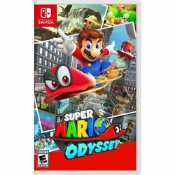 Super Mario Odyssey for Nintendo Switch Mario Game - BRAND NEW FACTORY SEALED