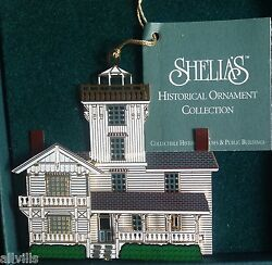 POINT FERMIN LIGHT LOS ANGELES CA 1996 Shelia's 3D Historical Ornament OR009 $23.95