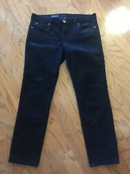 KUT from the Kloth - Diana Skinny Black Corduroy Pants - Size 14 - GREAT!