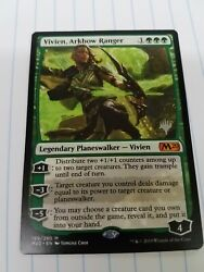 Magic the Gathering CORE 2020 VIVIEN ARKBOW RANGER MYTHIC EXCLUSIVE PROMO STAMP