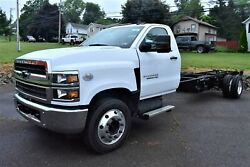 2019 CHEVROLET SILVERADO MD 6500 Chassis -- 2019 CHEVROLET SILVERADO MD 6500HD WHITE