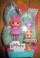 Lalaloopsy Mini BOUNCER FLUFFY TAIL DOLL EASTER Exclusive Target 2015 Pet Bunny $19.99