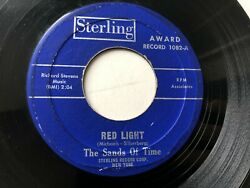 Sands Of Time GARAGE PSYCH STERLING 45 Red Light  I Want To Thank You Girl HEAR
