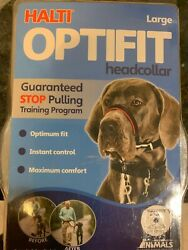 Halti Optifit Head collar-  size large - help dogs stop pulling