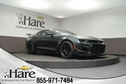 2020 Chevrolet Camaro ZL1 2020 Chevrolet Camaro ZL1 5 Miles Green Metallic 2D Coupe 6.2L V8 Supercharged 1