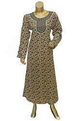 Abaya Style Long Polyester Multi color Printed Caftan Gown Maxi For Women#x27;s $25.72