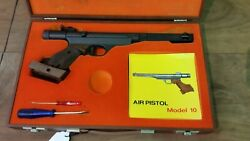 RWS Diana Model 10 Match Pistol .177 With Case Paperwork And Tools Needs Sealed
