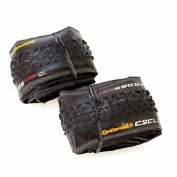 1 or 2 Tire Continental Cyclocross Race 700 x 35C Clincher Bike Tire Gravel $57.75