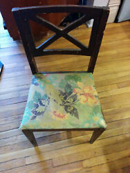 Antique Desk Student or Secretary  Chair Made by Hellrung and Grimm $139.00
