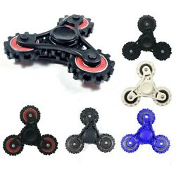 Fidget Spinner Gear Hand Spinners Anxiety Stress Relief Focus EDC Desk Toy ADHD  $5.99