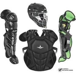 All Star System7 Axis NOCSAE Certified Youth Solid Pro Baseball Catcher's Kit -  $349.95